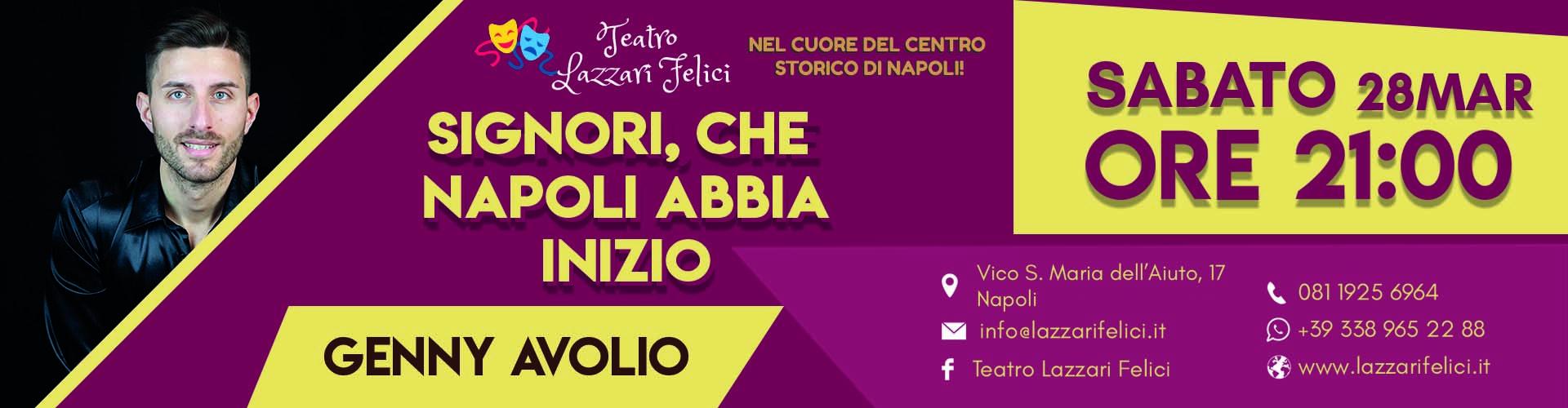 Spettacolo musical teatrale con Genny Avolio