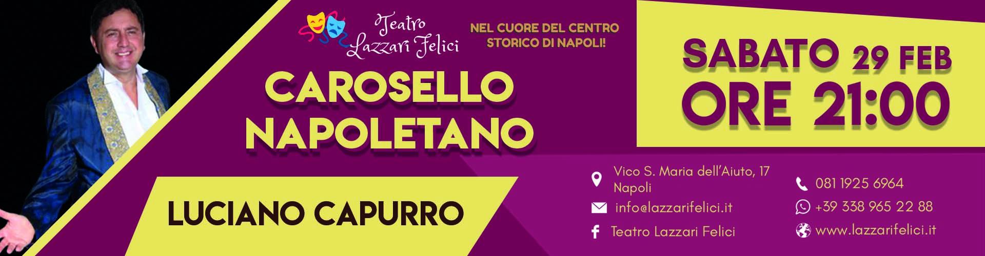 Spettacolo musical teatrale con Luciano Capurro